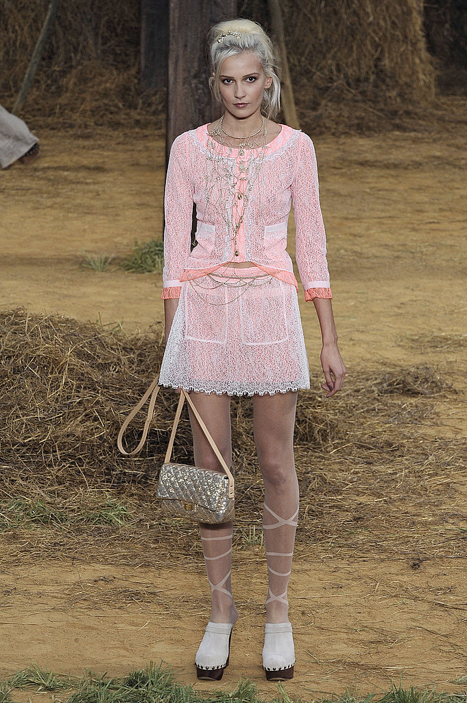 Chanel Goes Farm Girl, Takes a Roll in Hay for Spring 2010