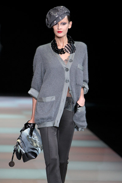 Milan Fashion Week: Giorgio Armani Fall 2009