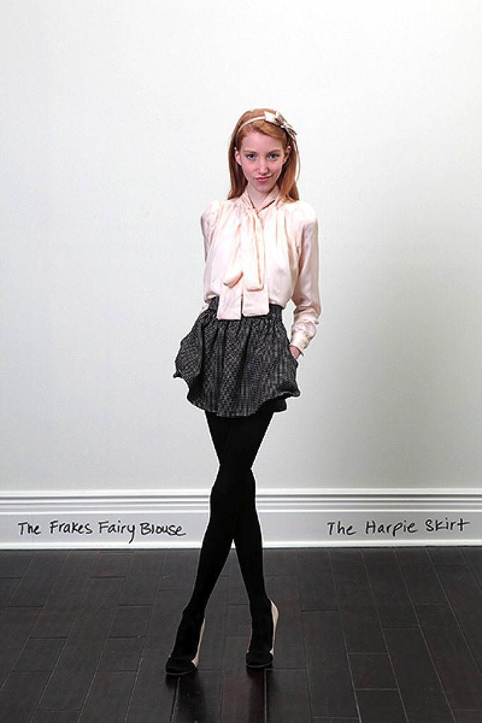 Rachel Antonoff Fall 2009 Look Book
