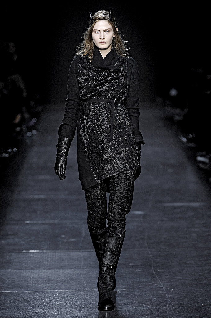 Paris Fashion Week: Ann Demeulemeester Fall 2009