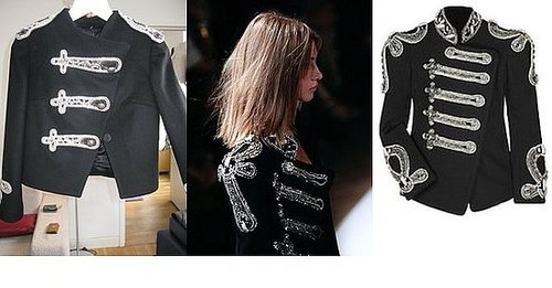 Alice + Olivia Does Balmain Jacket For Fall