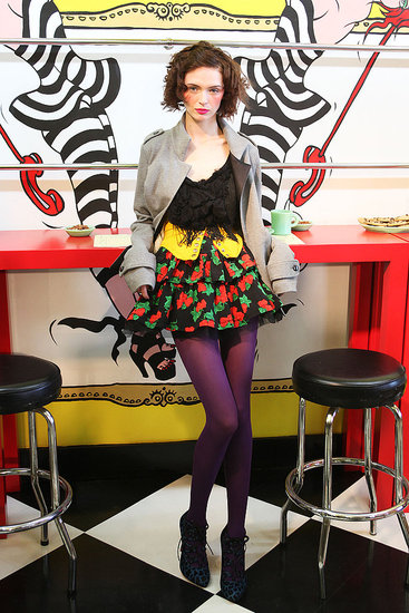 Fall 2009 Trend Report: Full Short Skirts
