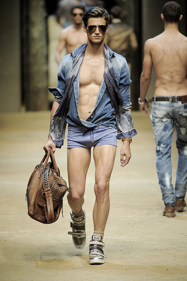 Milan: D&amp;G Men&#039;s Spring 2010
