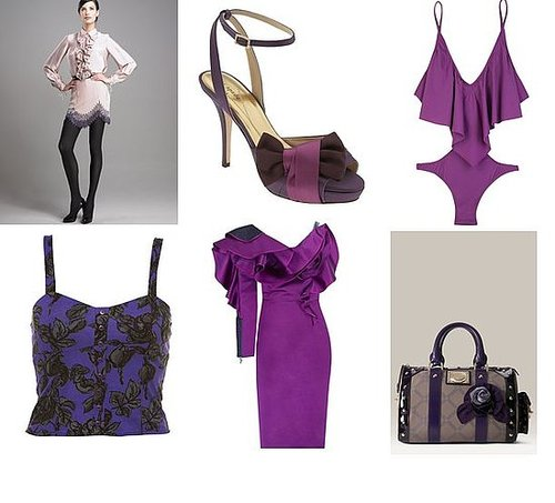 Shopping: Purple Romance-Inspired Midseason