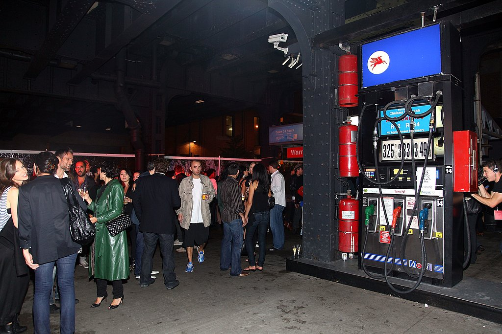 Scene at Alexander Wang after party