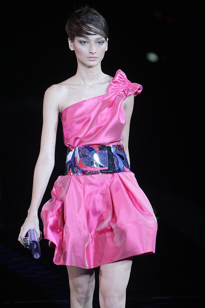 Milan Fashion Week: Giorgio Armani Spring 2010