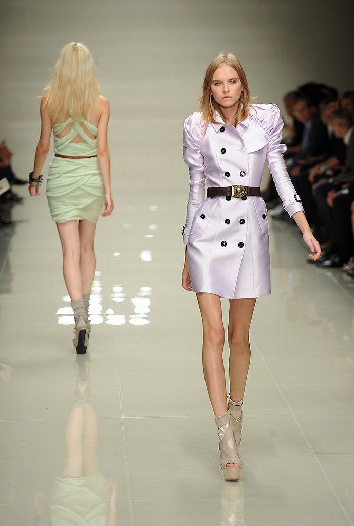 London Fashion Week: Burberry Prorsum Spring 2010