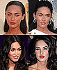 Pictures of Megan Fox's Lipstick