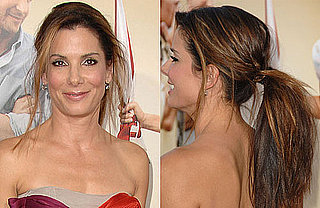 Love It or Hate It? Sandra Bullock's Tossed-Back Ponytail