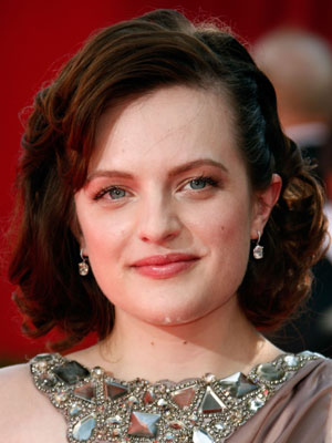 Photo of Elisabeth Moss at the 2009 Primetime Emmys