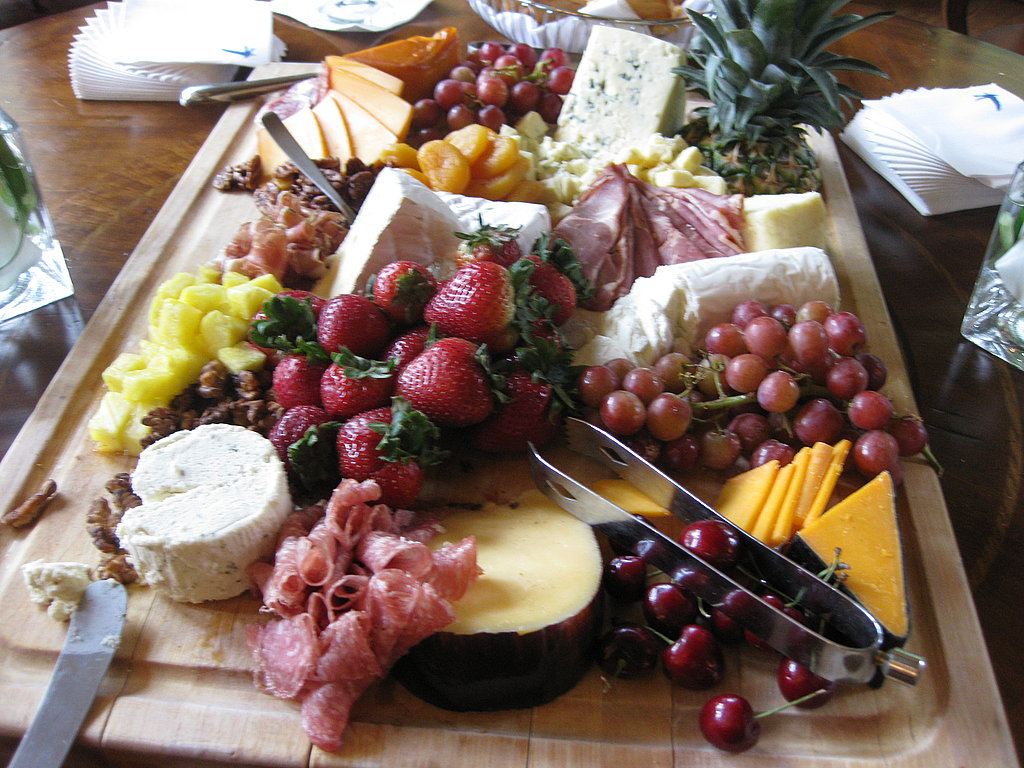 Gigantic Cheese Plate