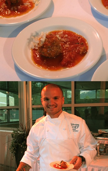 Nate Appleman's A16 Pork Meatballs