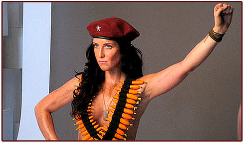 Che Guevara's Granddaughter Shows Skin For PETA Campaign