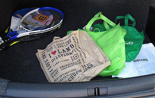 Simple Tip: Keep Reusable Totes in Your Trunk