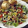 Fast &amp; Easy Recipe For Marinated Squid Salad With Dried Tomatoes