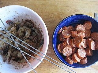 Shrimp and Chorizo Skewer Recipe 2009-08-05 10:40:48