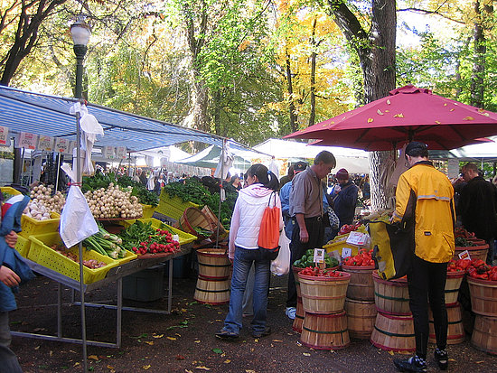 Portland Farmers Market, Portland, OR