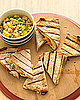 Fast & Easy Recipe For Vegetable Quesadillas With Corn Relish