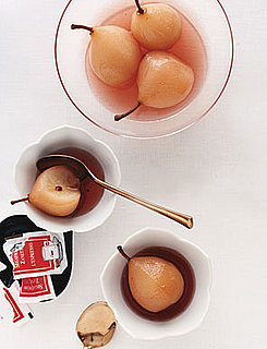 Pears Poached in Pink Champagne Recipe