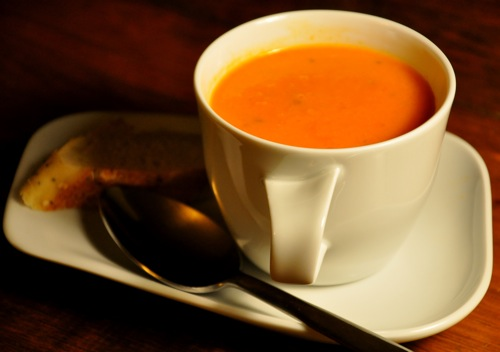 Soup's On: Cream of Fresh Tomato