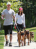 Buckley, Brennan, and Tina Take a Walk: In the LINK of an Eye!