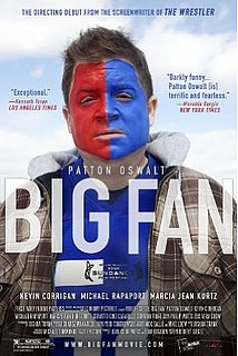 Movie Preview: Patton Oswalt in Big Fan