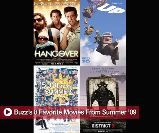 Buzz&#039;s 8 Favorite Movies From Summer &#039;09