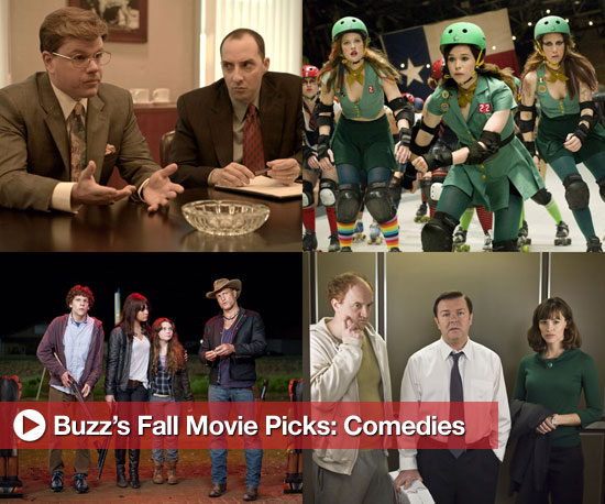 Buzz's Picks For Fall Movies: Comedies