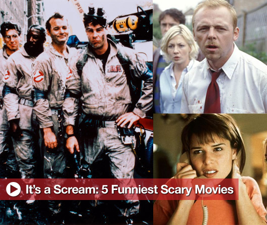 It's a Scream: 5 Funniest Scary Movies