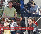 Photos of Celebrities Filming TV Shows and Movies on Set This Week