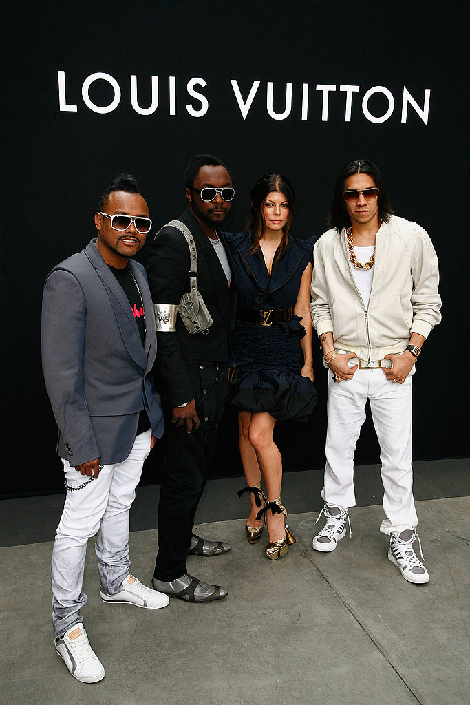 Photos of The Black Eyed Peas and Bradley Cooper in France