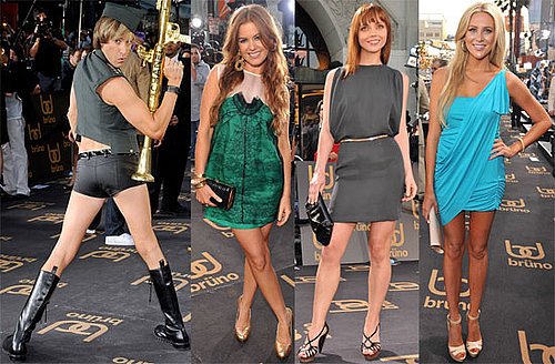 Photos of Sacha Baron Cohen, Isla Fisher, Christina Ricci, Stephanie Pratt at LA Bruno Premiere