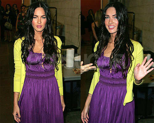 Photos of Megan Fox Stopping By Live With Regis and Kelly in NYC