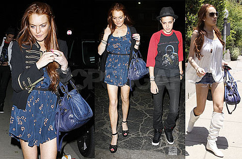 Photos of Samantha Ronson and Lindsay Lohan, Looking Like and Remembering Michael Jackson