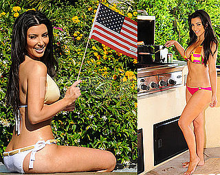Kim Kardashian Kicks Off July 4th in Many Bikinis!