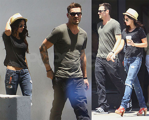Photos of Megan Fox and Brian Austin Green Grabbing Coffee Together in LA
