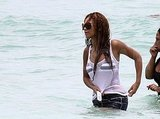 Beyonce Swimming in Miami