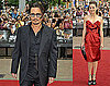 Photos of Johnny Depp, Marion Cotillard at Public Enemies Premiere in London