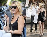 Photos of Kate Moss and Jamie Hince Shopping at Prada