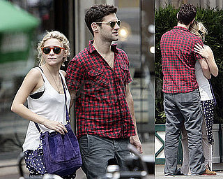 Photos of Ashley Olsen and Justin Bartha Together in Paris