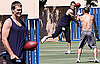 Photos of Tom Brady Training, Rumors Gisele Shopped For Baby Girl Clothes
