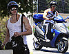 Photos of Kellan Lutz on Motorcycle
