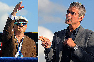 Photos of George Clooney and Bill Murray in Italy