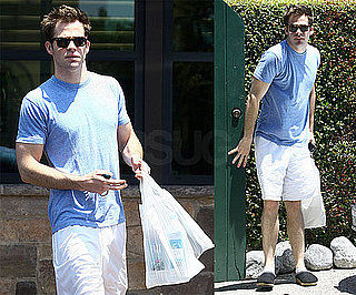 Photos of Chris Pine Running Errands in LA