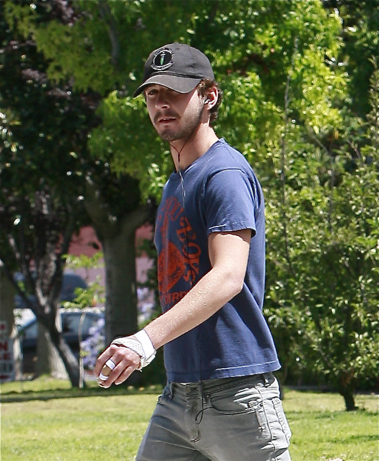 Photos of Shia LaBeouf in LA