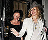 Photo Slide of Madonna and Stella McCartney After Dinner in London