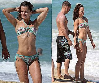 Bikini Photos of Mena Suvari With Her Fiance in Mexico