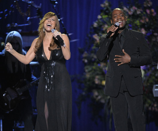 Mariah Carey and Trey Lorenz