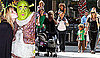 Photos of Heidi Klum and Her Family in NYC at Shrek The Musical