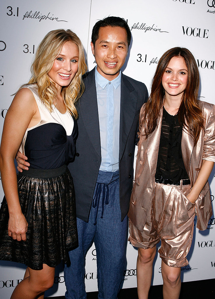 Photos of Rachel Bilson and Kristen Bell at Phillip Lim